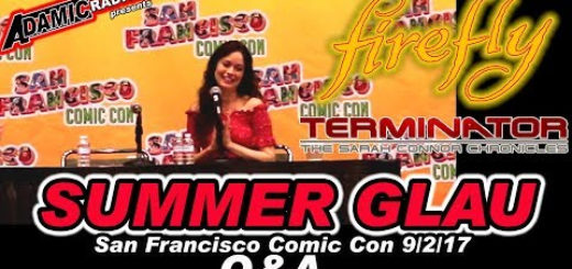 Summer Glau San Francisco Comic Con 2018