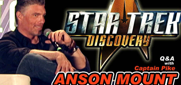 Star Trek Discovery Anson Mount Q&A
