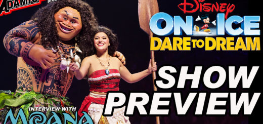 DISNEY ON ICE DARE TO DREAM INTERVIEW