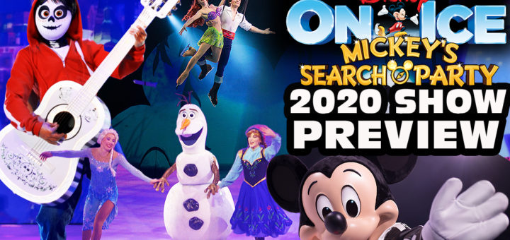 Disney On Ice Mickey's Search Party show preview