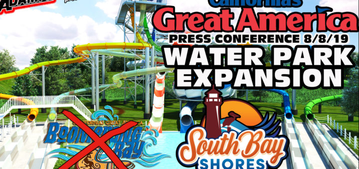 Great America water park expansion