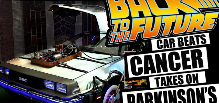 Back To The Future Car beats cancer takes on Parkinson's