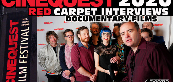 Cinequest documentary red carpet interviews