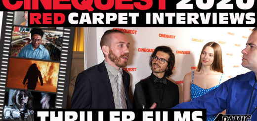 Cinequest 2020 Thriller red carpet interviews